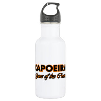 capoeira design stainless steel water bottle