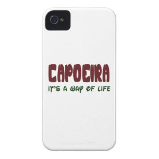 Capoeira es una manera de vida iPhone 4 Case-Mate cobertura