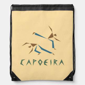 Capoeira estilizado mochila