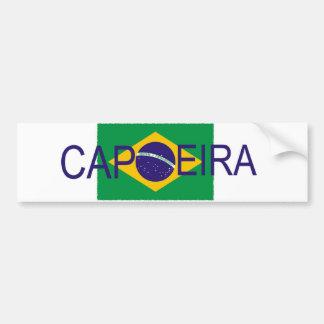 Capoeira flag car bumper sticker