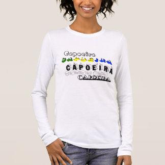 capoeira gift mma martial arts brazil abada axe long sleeve T-Shirt