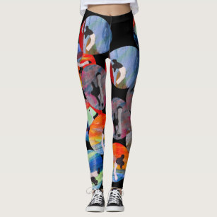 capoeira ginga abada samba fitness mma brazil leggings