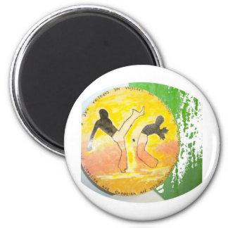 capoeira ginga axe magnet