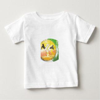 capoeira ginga axe shirt baby kids