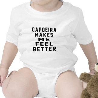 Capoeira hace que siente mejor trajes de bebé