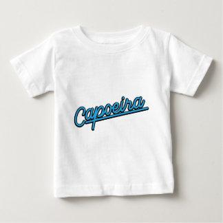Capoeira in cyan infant t-shirt