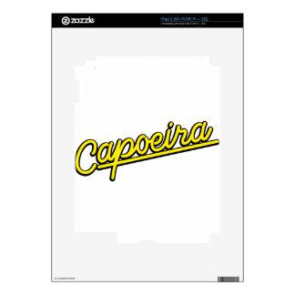 Capoeira in yellow skin for iPad 2