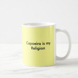 Capoeira is my Religion Classic White Coffee Mug