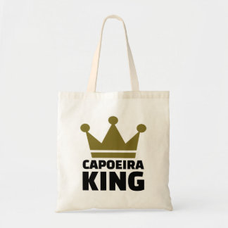Capoeira king tote bag