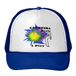capoeira love mesh hats