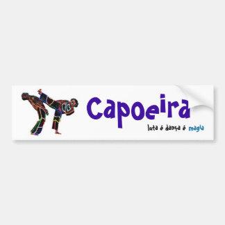 Capoeira, luta danca magia car bumper sticker