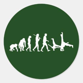 Capoeira Luta Mestre Martial Arts Gift Classic Round Sticker