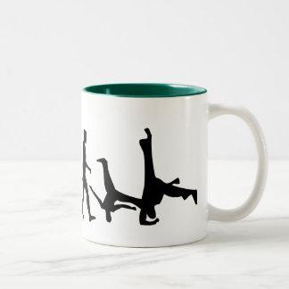 Capoeira Luta Mestre Martial Arts Gift Two-Tone Coffee Mug