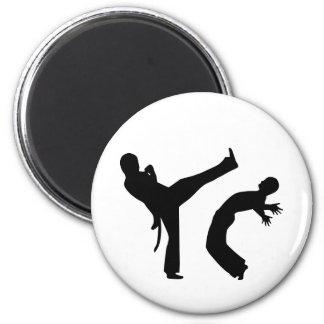 Capoeira Fridge Magnet