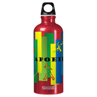 capoeira martial arts axe water bottle