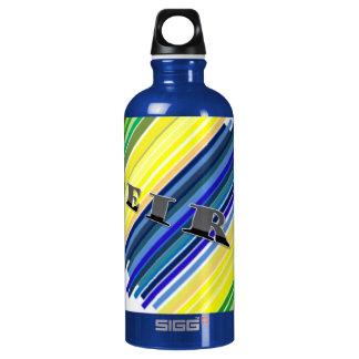 capoeira martial arts ginga bahia aluminum water bottle