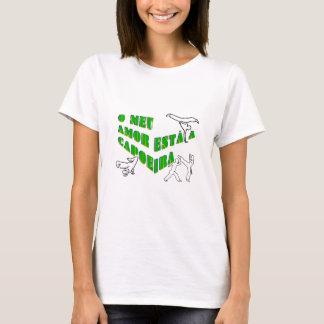capoeira meu amor martial arts axe bahia T-Shirt