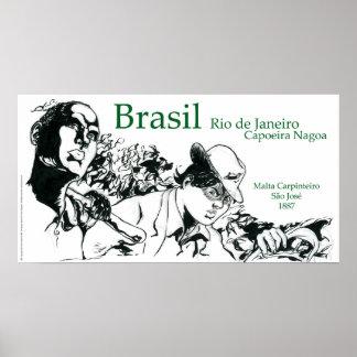 Capoeira Nagoa el Brasil Impresiones