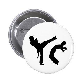Capoeira Pin Redondo 5 Cm