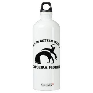 Capoeira Vector Design Water Bottle