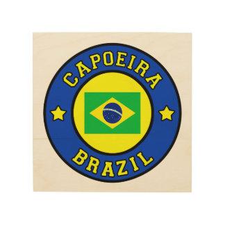 Capoeira Wood Wall Art