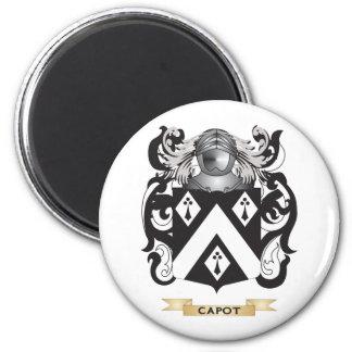 Capot Coat of Arms (Family Crest) Fridge Magnets