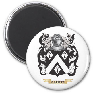 Capote Coat of Arms (Family Crest) Magnets