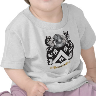 Capote Coat of Arms (Family Crest) T Shirt