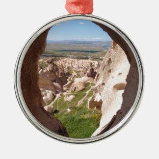 Cappadocia. Adorno Navideño Redondo De Metal