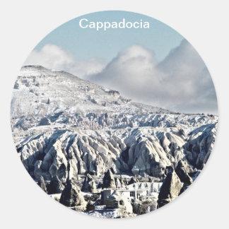 Cappadocia Pegatina Redonda