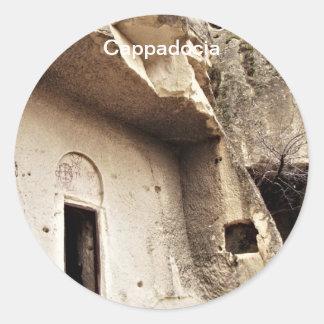 Cappadocia Round Stickers