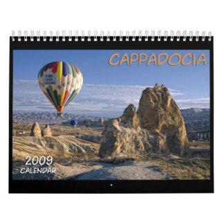Cappadocia. Turkey. Calendar