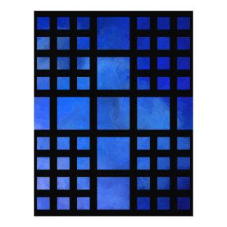 Cappanella V1 - blue squares Letterhead
