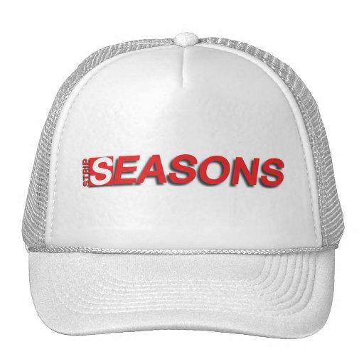 Cappellino di Strip Seasons (bianco) Gorras De Camionero