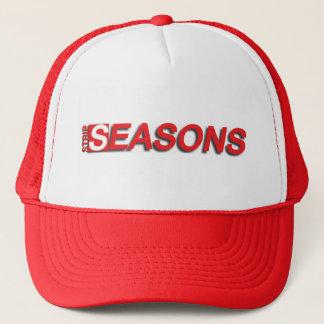 Cappellino di Strip Seasons (rosso) Trucker Hat