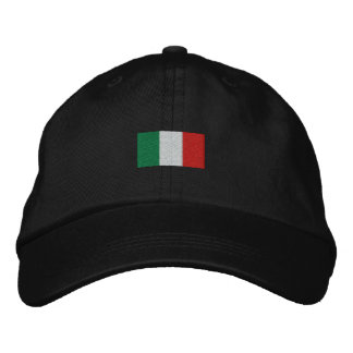 Cappello Berretto Italia Bandira - Forza Italia! Embroidered Baseball Hat