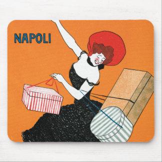 Cappiello - vintage - Magazzini Italiani Mouse Pad