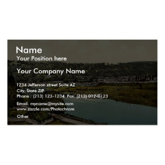 Cappoquin. Co. Waterford, Ireland rare Photochrom Business Card