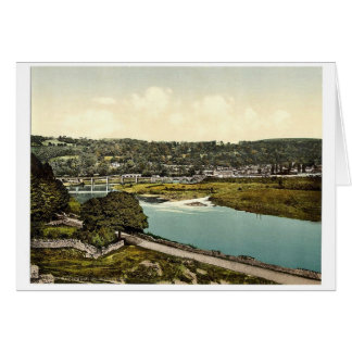 Cappoquin. Co. Waterford, Ireland rare Photochrom Card