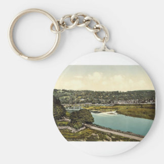 Cappoquin. Co. Waterford, Ireland rare Photochrom Keychain