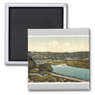 Cappoquin. Co. Waterford, Ireland rare Photochrom Refrigerator Magnet