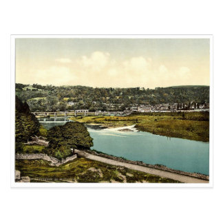 Cappoquin. Co. Waterford, Ireland rare Photochrom Postcards