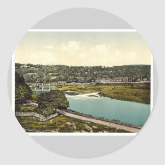 Cappoquin. Co. Waterford, Ireland rare Photochrom Stickers