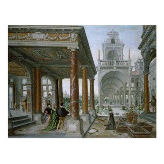 Cappricio de la arquitectura del palacio postal