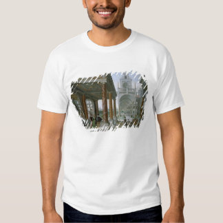 Cappricio of palace architecture tee shirt