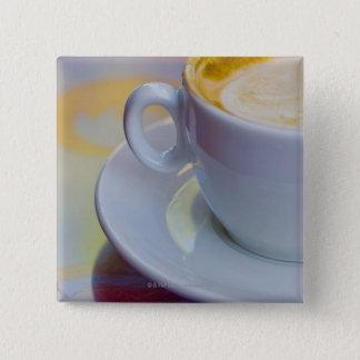 Cappuccino 2 pinback button