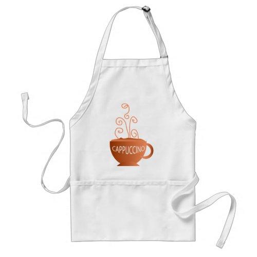 Cappuccino apron