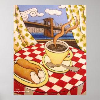 Cappuccino & Cannoli Poster