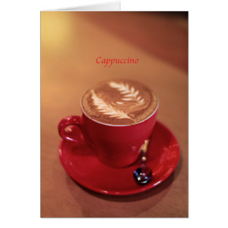Cappuccino Cards