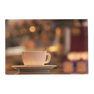 Cappuccino coffee, Venice, Italy Placemat